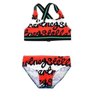 Stella McCartney Girl's Two Piece Swimsuit