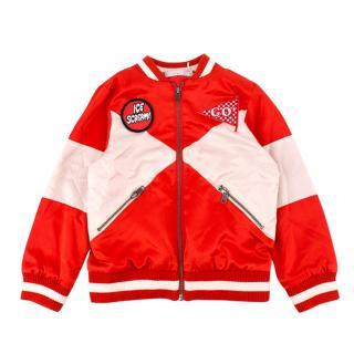 Stella McCartney Girl's Willow Bomber Jacket