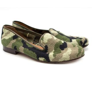 Stubbs and Wootton Camo Women Slipper