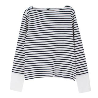 J Crew Striped Bateau Jumper