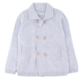 Baby Graziella Knitted Merino Wool Double Breasted Cardigan