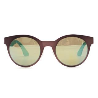 Carrera Two-Tone Metallic Sunglasses