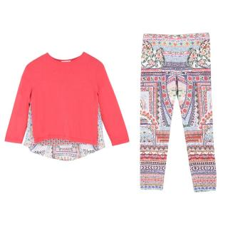 Camilla Girls Knitted Jumper and Leggings Set