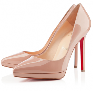 Christian Louboutin Pigalle Plato Nude 120 Pumps