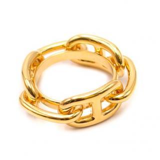Hermes Permabrass Regate Scarf Ring