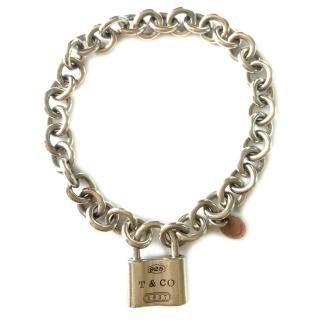 Tiffany & Co 1837 Padlock bracelet