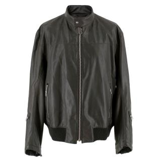 Boss Hugo Boss Black Faux  Leather Jacket