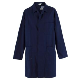 Sunlight Men's Navy Longline Coat