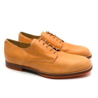 T&F Slack Shoemakers London Handmade Orange Denver Shoes