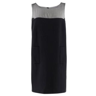 Andrew Gn Black Wool Mini Dress