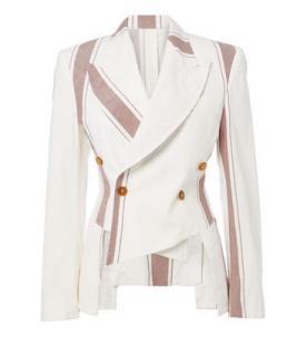 Vivienne Westwood SS18 asymmetric double brested jacket