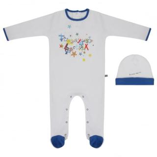 Christian Lacroix  cotton romper and hat gift set