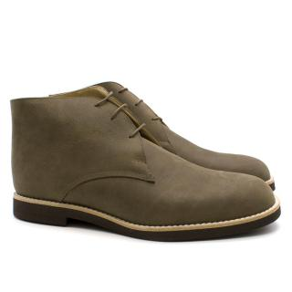FT&F Slack Shoemakers London Handmade Brown Boots