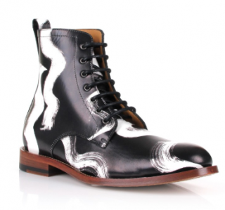 Vivienne Westwood Men's squiggle utility boots
