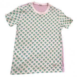Miu Miu Printed T-shirt