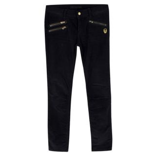 Zadig & Voltaire Black Corduroy Trousers