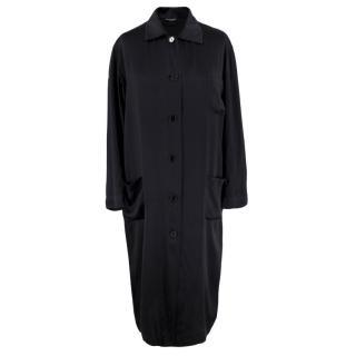 Sidenkompaniet Silk Black Shirt Dress