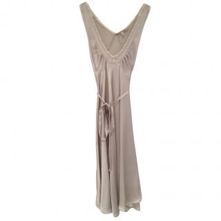 See by Chloe silk grey nightgown