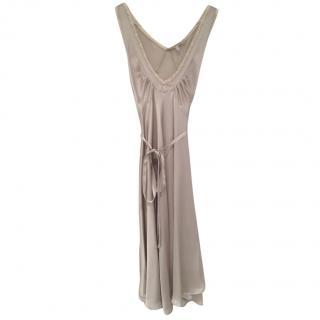 See by Chloe silk grey nightgown