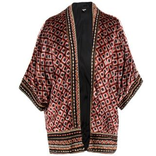 Blank London Kimono Style Open Cardigan
