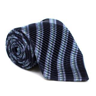 Stefano Ricci Pure Silk Luxury Pleated Tie