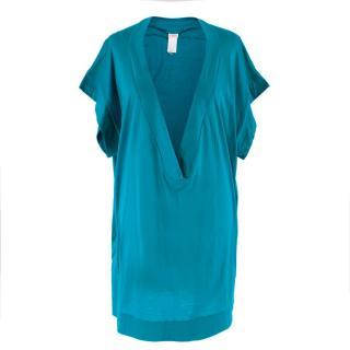 Eres Turquoise Oversize T-Shirt
