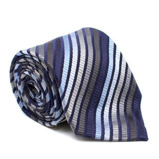 Harrods Striped Silk Tie