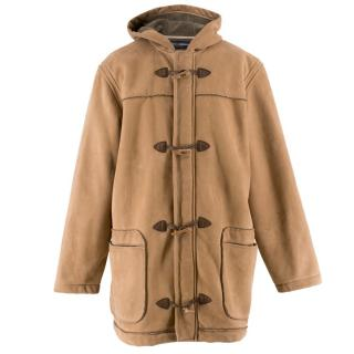 Dolce & Gabbana Brown Suede Coat