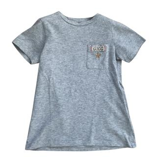 Gucci Boys Grey T-shirt