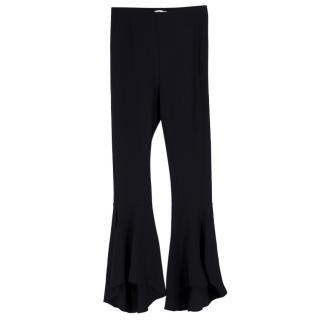 LPA Black Flared Trousers