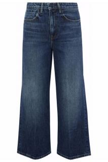 Alexander Wang Cropped Faded High-Rise Flared Jeans