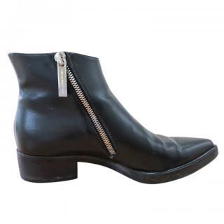 Stella McCartney asymmetric zip ankle boots