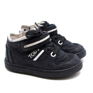 Tod's Boy's Navy Trainers