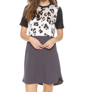 Rebecca Taylor Cool Cat Mini Dress
