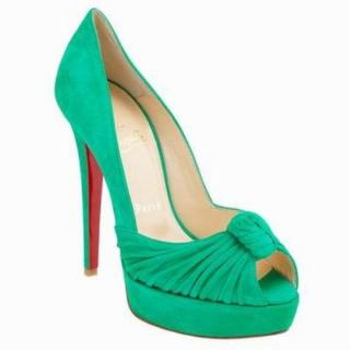 Christian Louboutin Greissimo Suede 140mm Pump