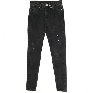 Zoe Karssen Super Denim Distressed Jeans
