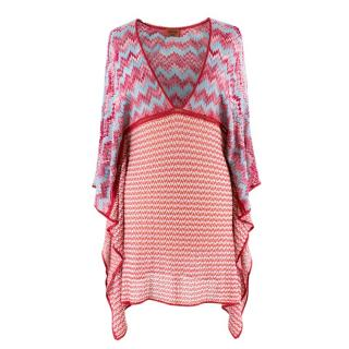 Missoni Waterfall Knit Mini Dress