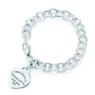 Tiffany & Co. Heart Tag Charm Bracelet