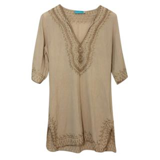 Mellisa Odabash Embroidered Beach Dress