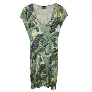 Just Cavalli Botanical Print Dress