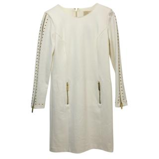 Michael Michael Kors Studded Cream Dress