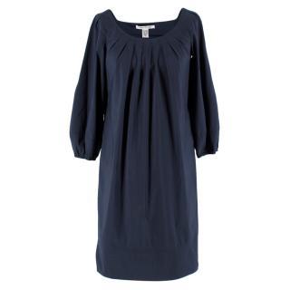 Diane von Furstenberg Navy Tunic Dress
