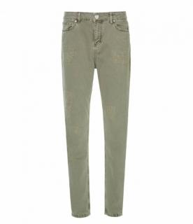 Zoe Karssen Janis Mid Rise Boyfriend Jeans