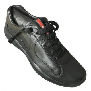 Prada Men's Black Sneakers