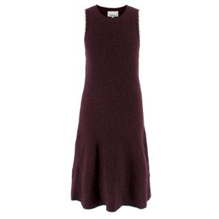 3.1 Phillip Lim Burgundy Knit Dress