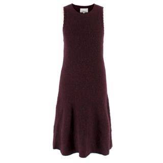 3.1 Phillip Lim Burgundy Knit Dress