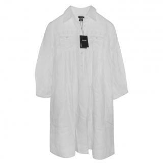 Gant White Linen Tunic Dress