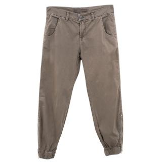J Brand Khaki Earhart Flight Pants