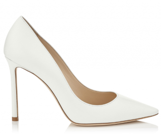 Jimmy Choo Romy 85 Optic White Pumps