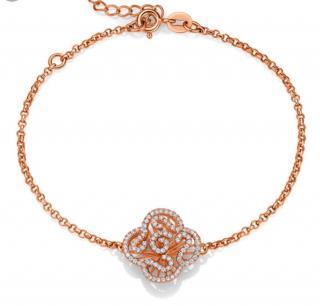 Fei Liu Cascade Rose Gold Vermail Bracelet